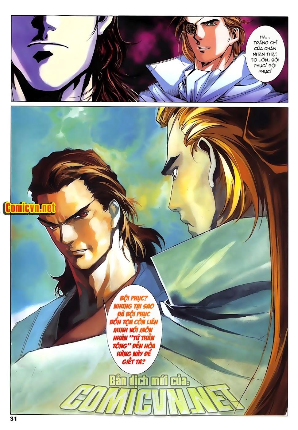 Lục Đạo Thiên Thư chap 14 - Trang 31