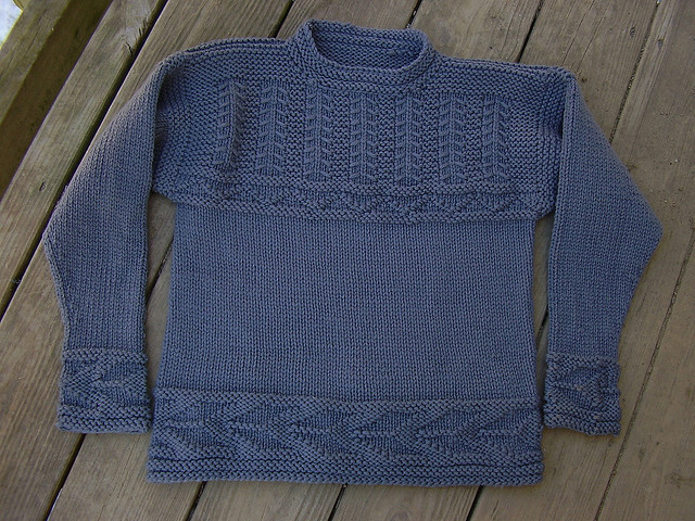 Knitting Pattern Guernsey Sweater : HEARTS FOR WARMTH: Free Patterns