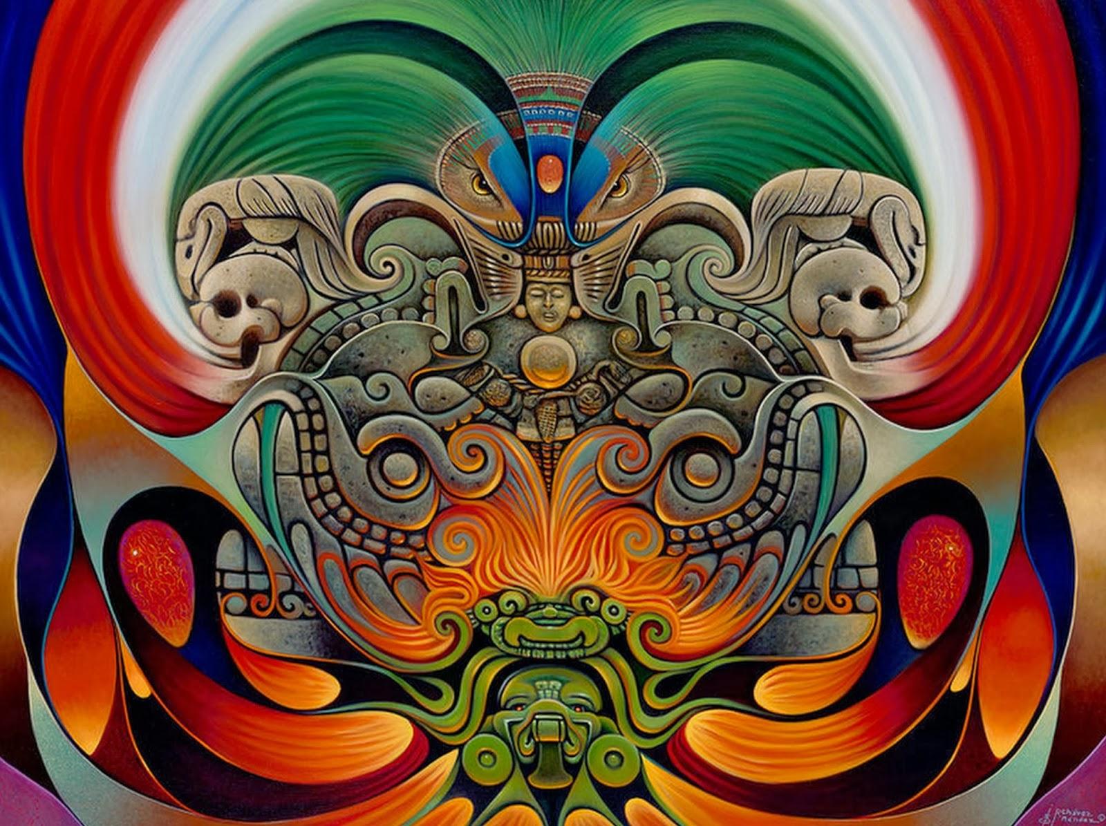 Pinturas De Arte Moderno Mexicano