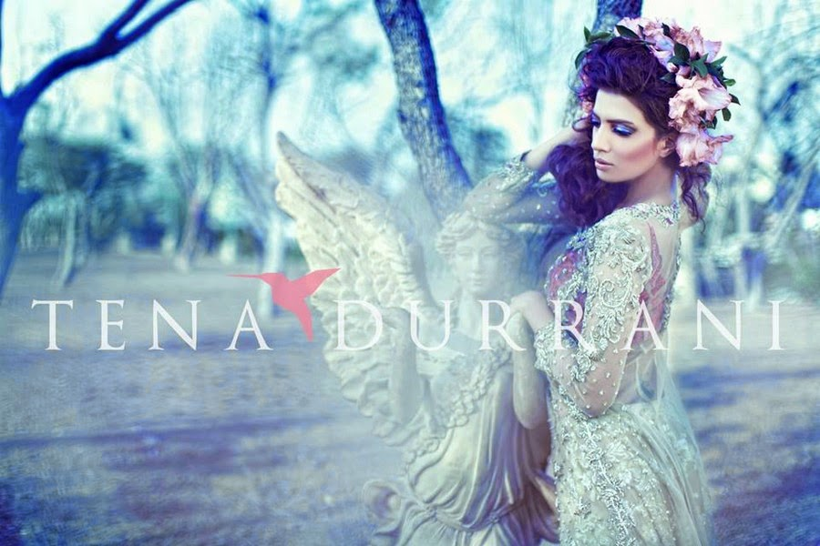 Tena Durrani Wedding Wearing Fall Collection 2014