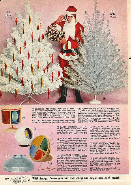 Aluminum Christmas Tree Ornaments