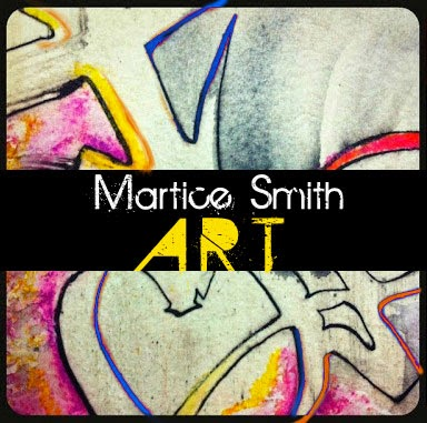MarticeSmithART.com, blog button