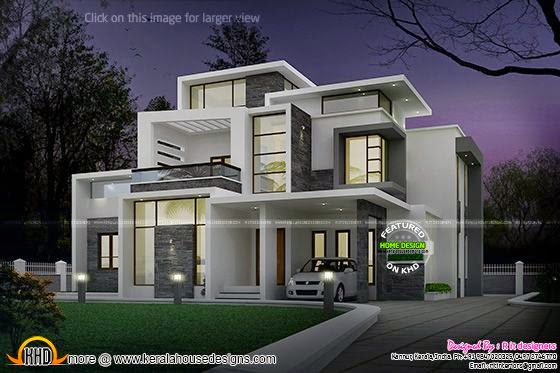 Grand contemporary home design