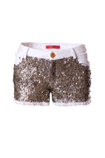 Shorts lentejuelas