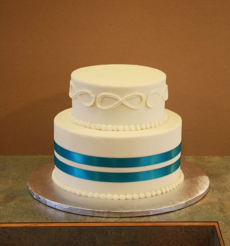 Party Cakes: Infinity Symbol Wedding Cake