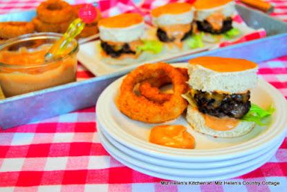 Expresso Chili Burger Sliders