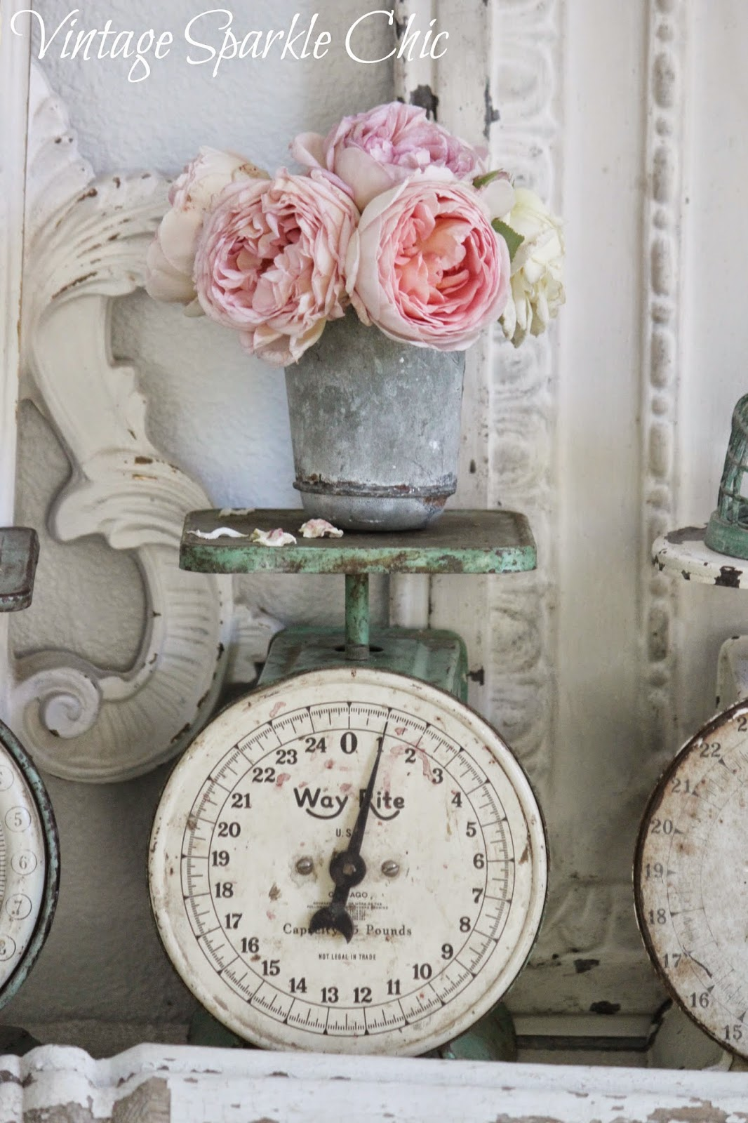 Vintage Sparkle Chic Story Flower Shabby Rose 1 Summers End 2014 04