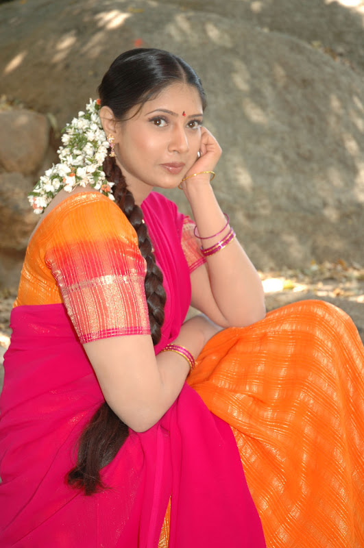 Tollywood Actress Sanghavi Half Saree Photos wallpapers