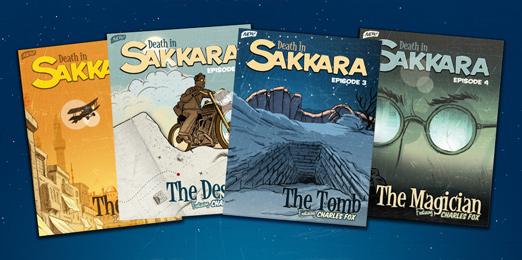 DEATH IN SAKKARA (INTERACTIVE MYSTERY GAME!)