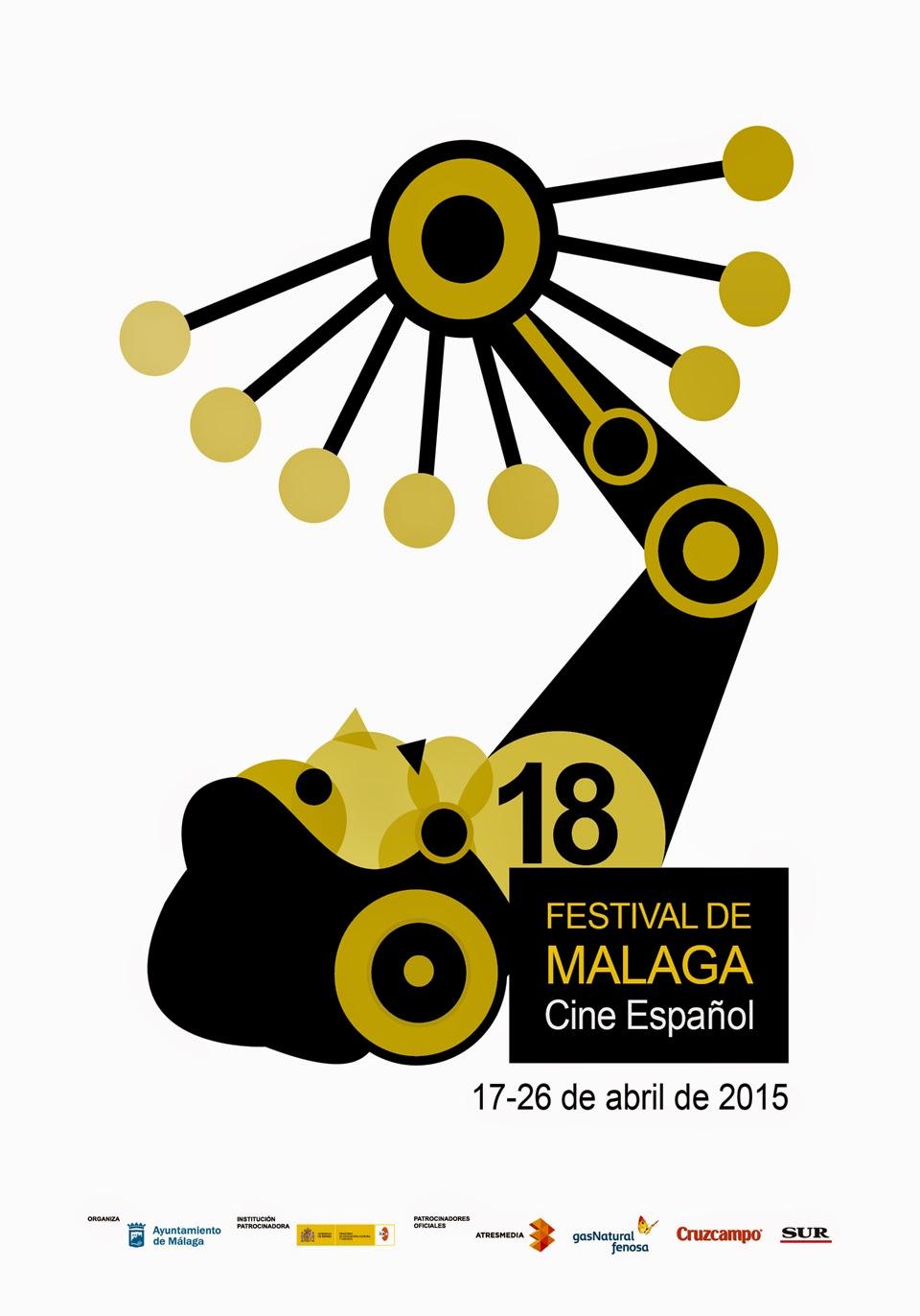 Propuesta para el Cartel Festival de Málaga 18 Edición. - Made in Mary