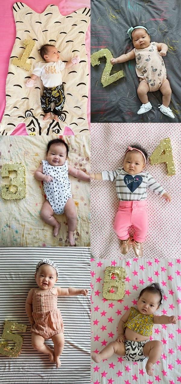 Ideias De Fotos ~ Blog M u00e3e de Primeira Viagem Ideias para fotos m u00eas a m u00eas do beb u00ea