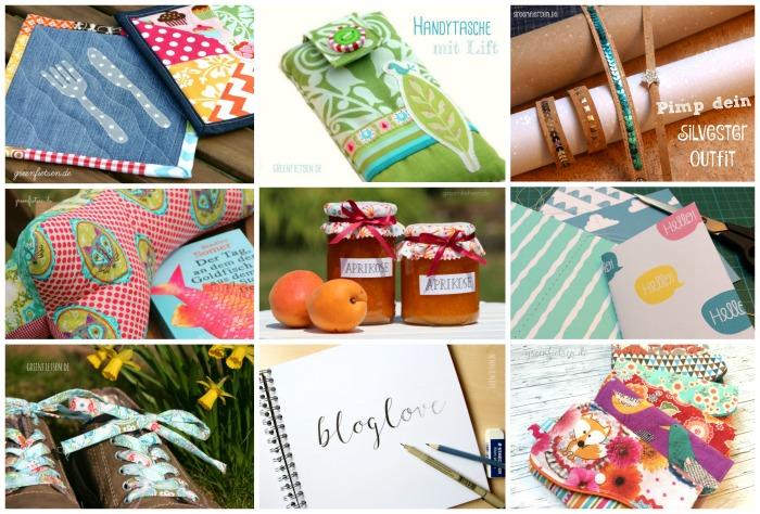 Jahresrückblick - meine DIY- und Nähprojekte 2015