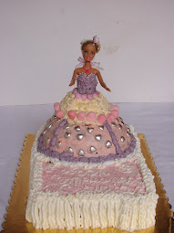 torta Barbie per Claudia