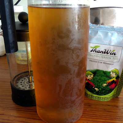 How to Make Cold Brewed Tea:  Green Tea:  A simple tutorial for how to make cold brewed tea.  No boiling water required and results in a smooth and tasty tea.