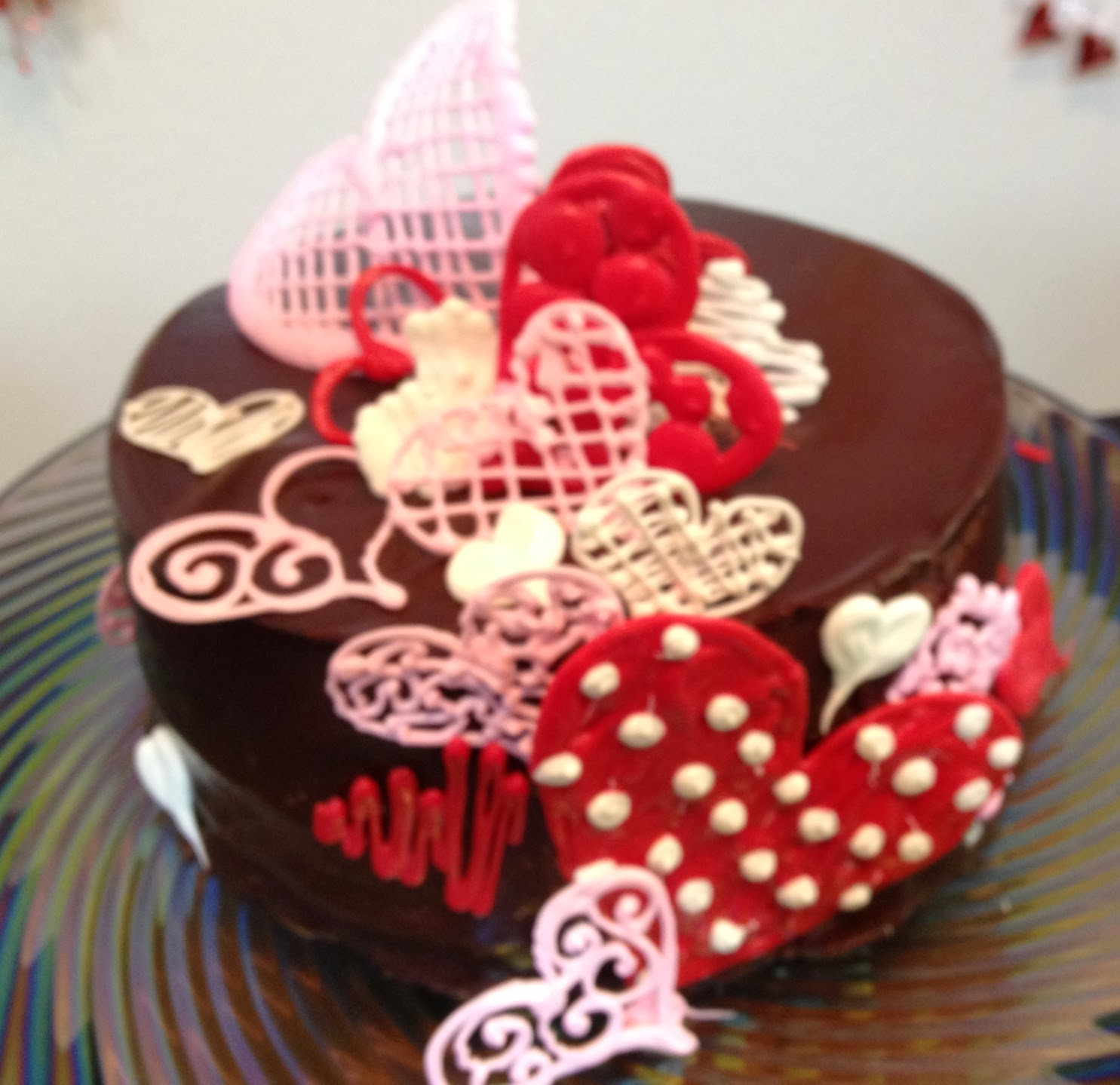 Leah s Crazy Cake Lab: Sweet Hearts Chocolate Cake- in ...