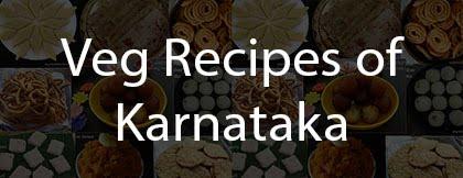 Veg Recipes of Karnataka