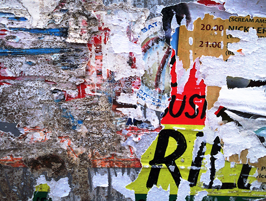 urban photography, urban decay, contemporary, modern, photo, art, torn posters,