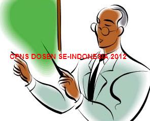 Daftar Perguruan Tinggi yang Buka Lowongan CPNS Dosen 2012
