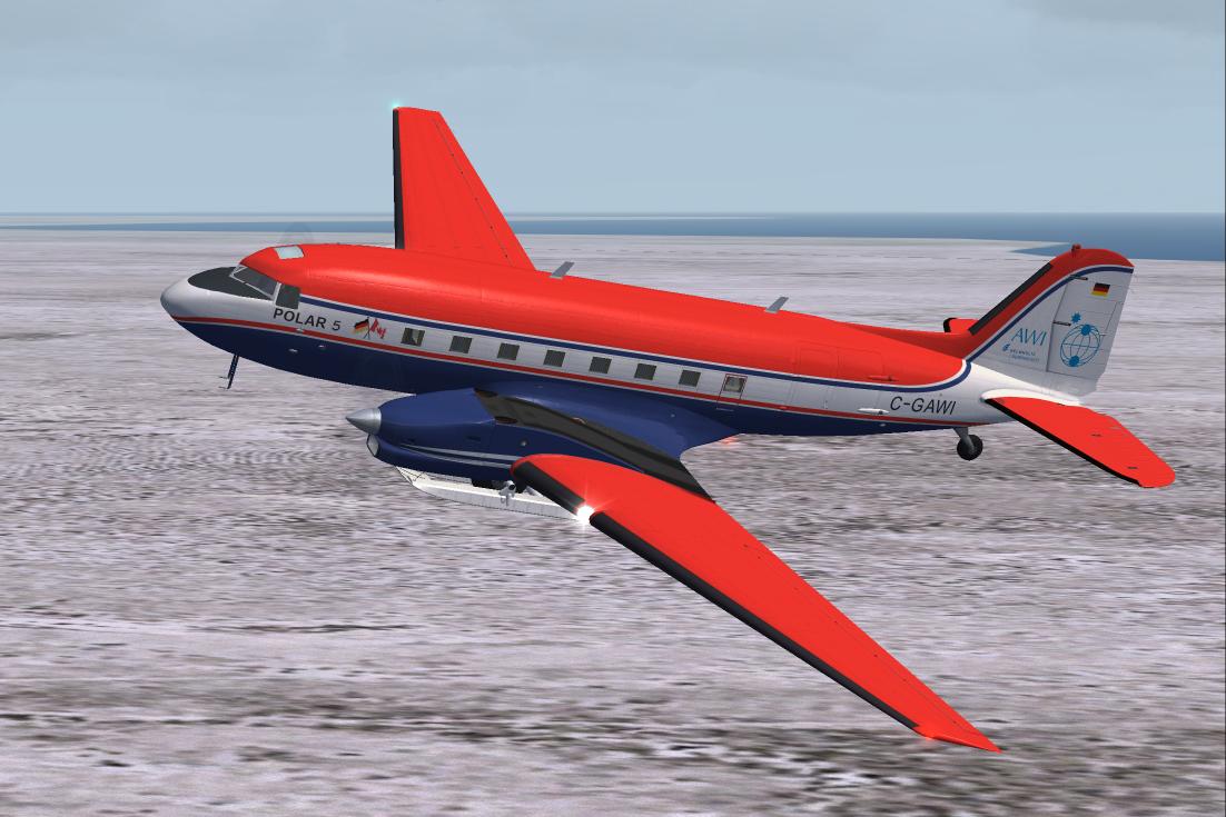 Sharp Wings: Basler BT-67 - freeware letadlo pro FSX a P3D