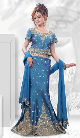 Blue-Art-Wedding-Lehenga-Choli