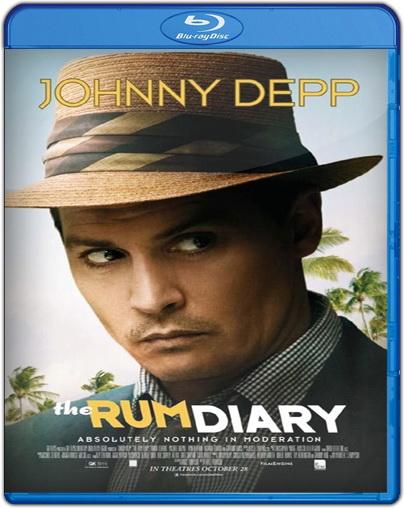 Film Bioskop Terbaru: The Rum Diary (2011) BRrip MKV 400Mb