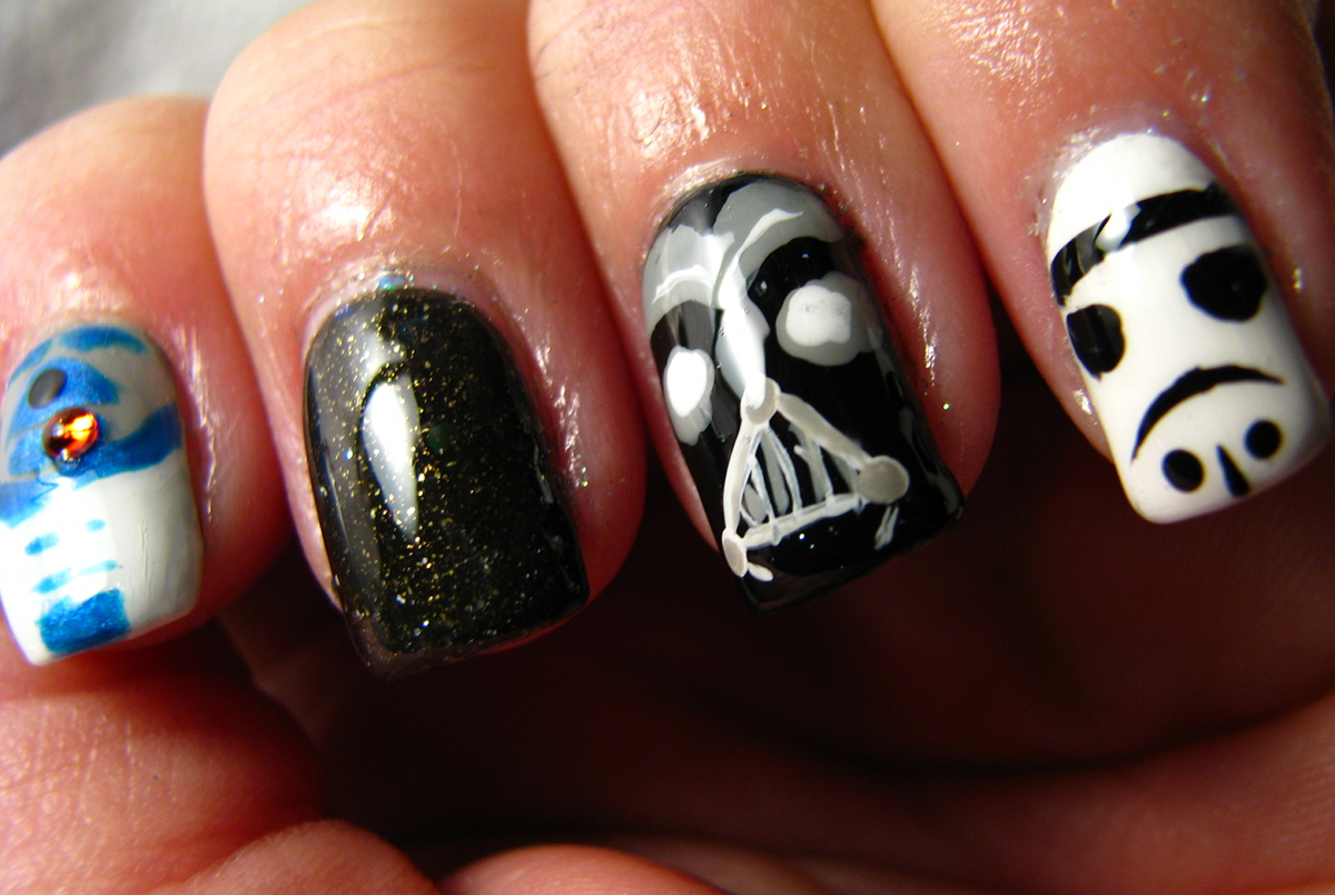 Over The Top Coat: May the Fourth Be With You ;)
