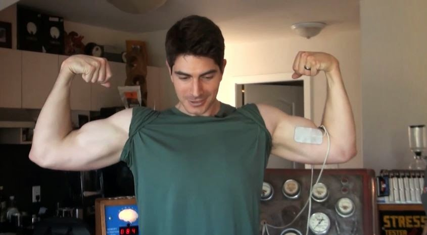 Brandon Routh Biohacks with Bulletproof's Dave Asprey