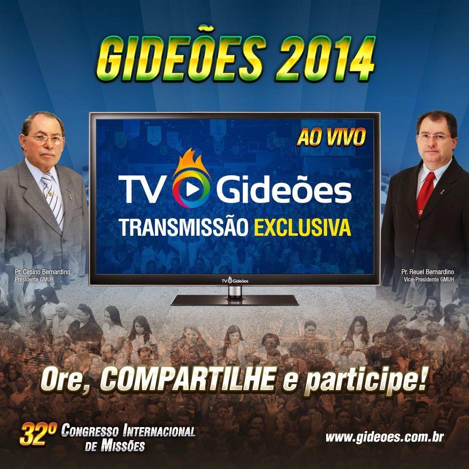 Assista ou baixe todas as pregações do GIDEOES 2014 em HD