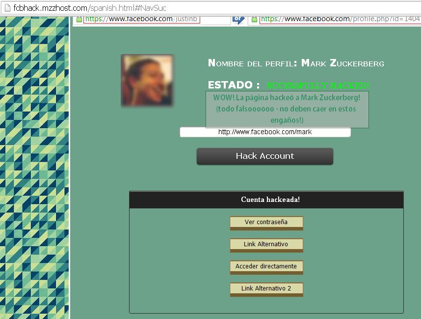 Hackear Facebook, SCAM de fcbhack - MasFB