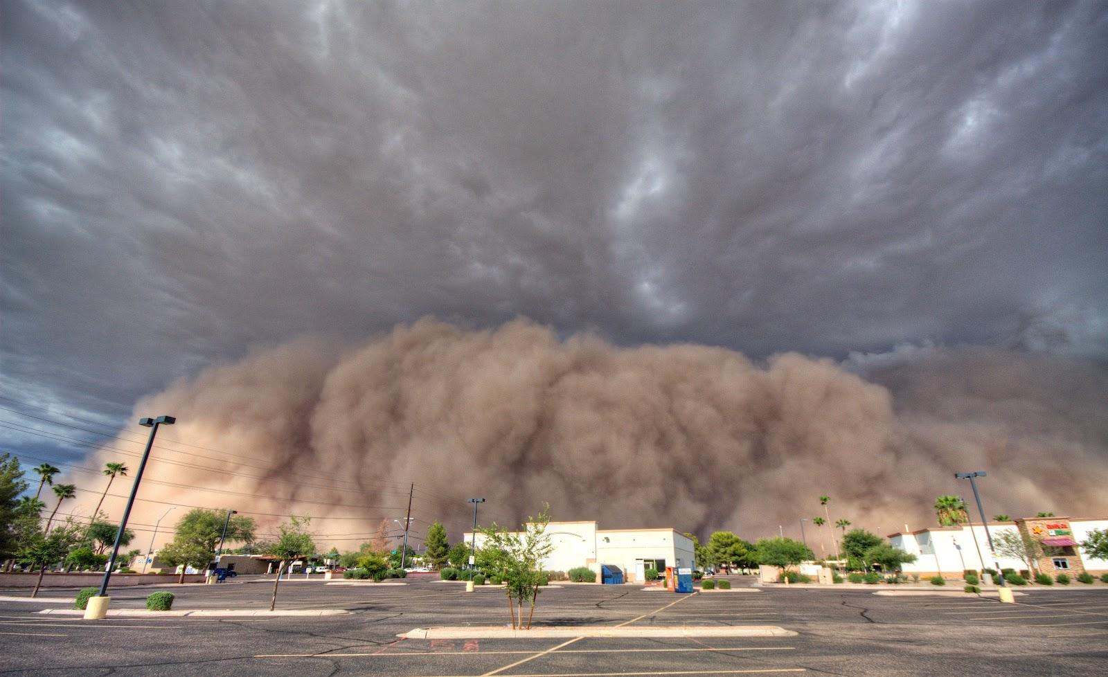Usa Tempesta Di Sabbia A Phonix Le Spettacolari Foto E Video