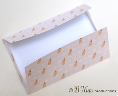 Bnute Productions: Scrapbook Paper Ideas: Printed Envelope
