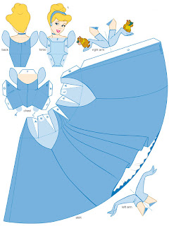Cut of Cinderella to print