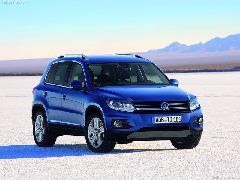 2012 new SUV Volkswagen Tiguan