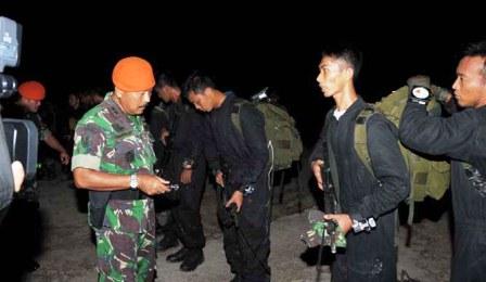 38 Prajurit TNI Masuki Daerah Kalimantan Timur