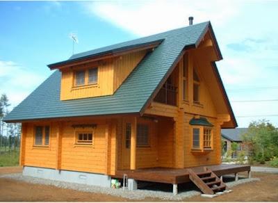 desain rumah kayu sederhana dan modern desain interior