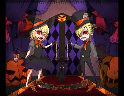 Vocaloid Halloween Chibi