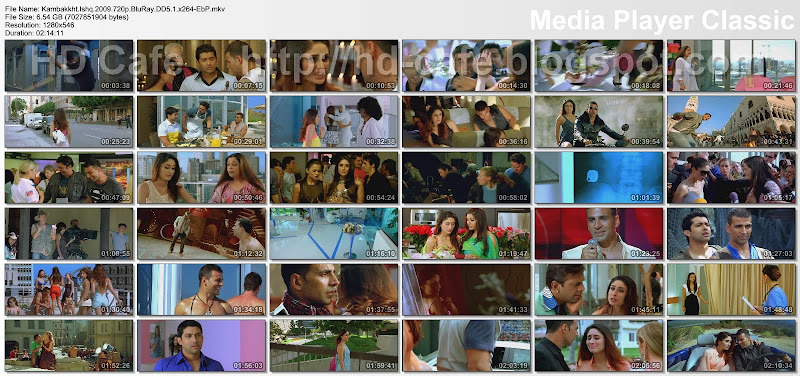 Kambakkht Ishq 2009 video thumbnails