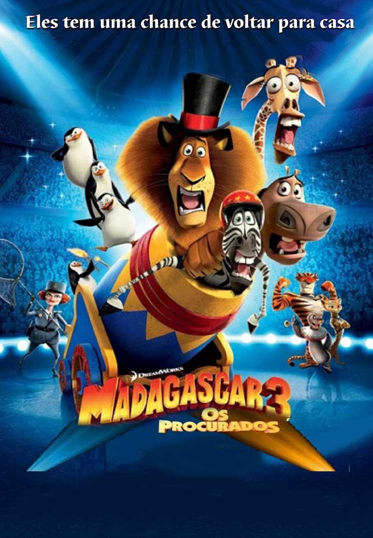 Madagascar 3: Os Procurados 3D Torrent - Blu-ray Rip 1080p Dublado (2012)