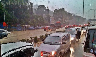 Banjir Projek MRT Jalan Duta