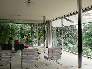 Casa Tugendhat Interior. Arquitectura Moderna.