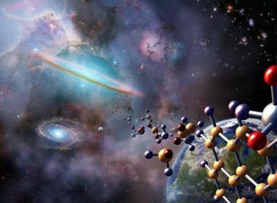 Teoría Panspemia origen vida