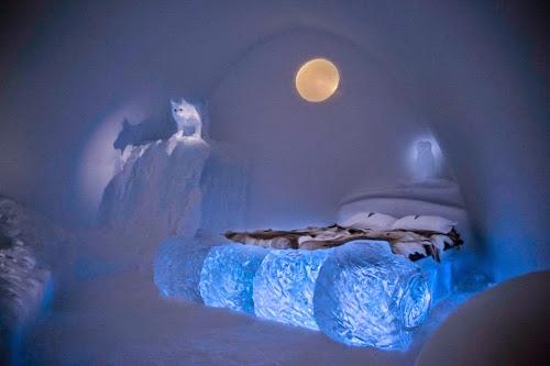 Ice Hotel in Jukkasjärvi