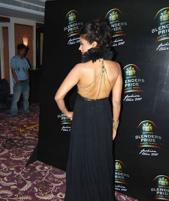 sameera reddy bare back glamour  images
