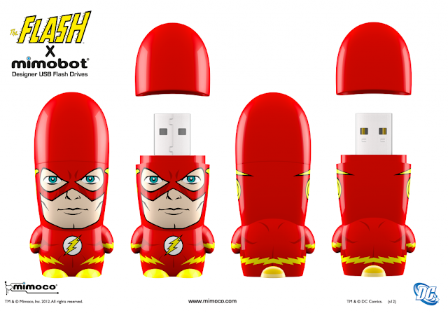 The Flash DC Comics Mimobot by Mimoco