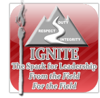 IGNITE the Spark for Leadership - From the Field for the Field logo