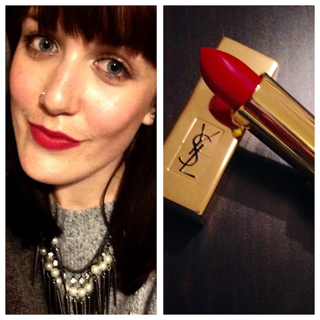 YSL Rouge Pur Couture The Mats 202 Rose Crazy