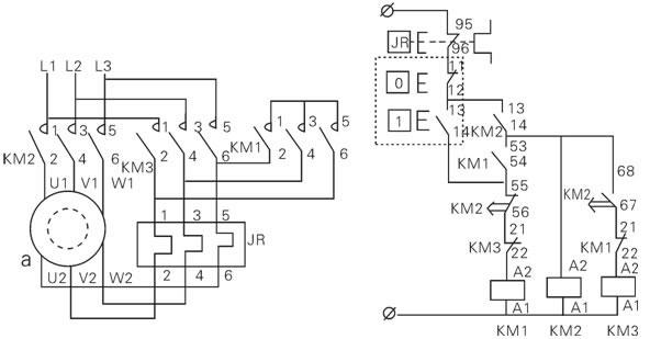 delta star motor starter wiring diagram