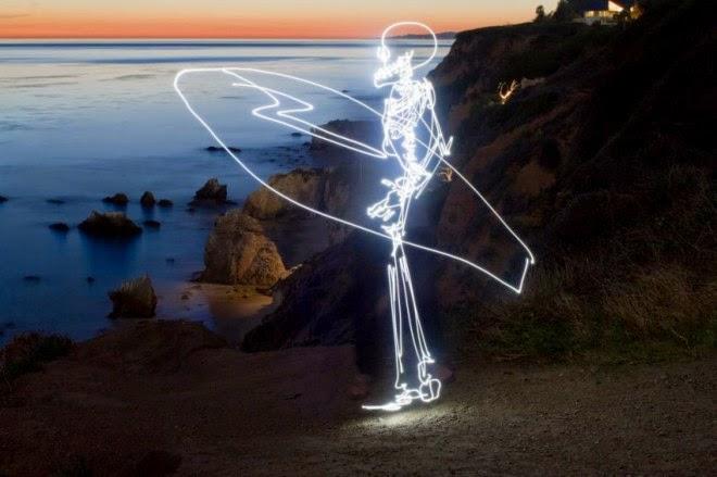 Darren Pearson, Lightpainting