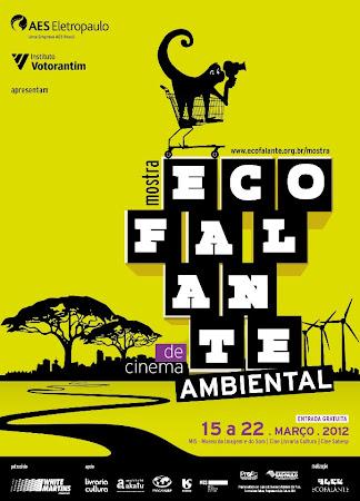 Cartaz da primeira Mostra Ecofalante de Cinema Ambiental