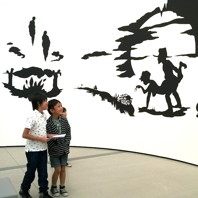 Kara Walker at The Broad Museum Los Angeles